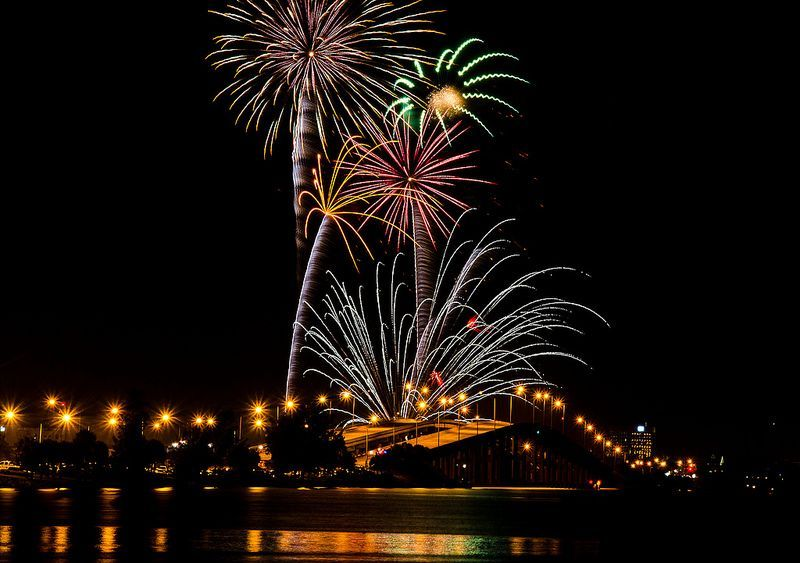 Fourth of July Fireworks Displays Across America