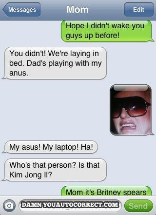 Worst Auto Corrects by iPhone