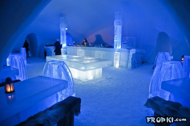 Cool Ice Hotel in Finland