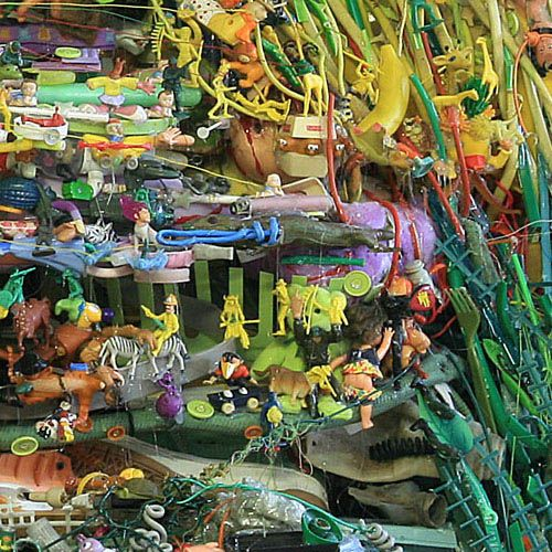 Idyllic Landscapes Recreated from Junk