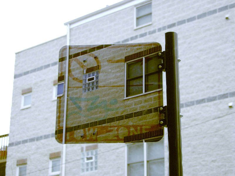 Street Signs and Boxes Turned Into Transparent Objects