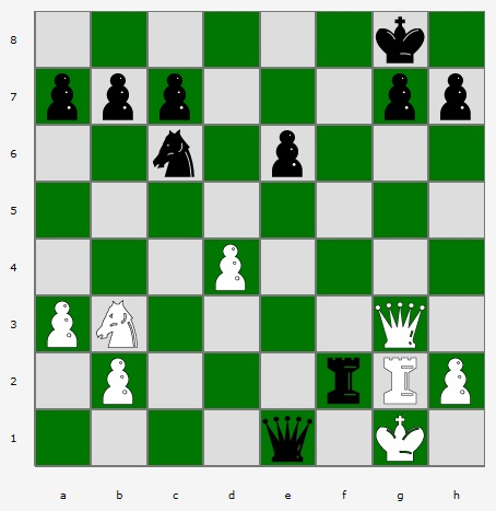 Chess - Black to Move, Mate in Two (02-02-2012)
