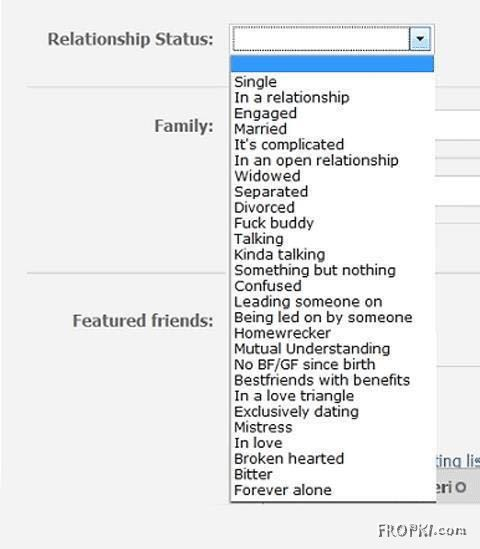 What's your Relationship Status