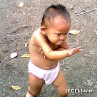 Smallest Kung-Fu Master