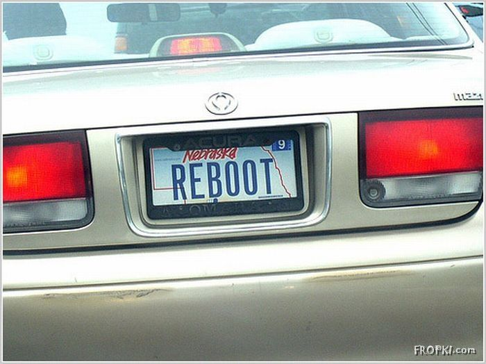 Amazing License plates to read