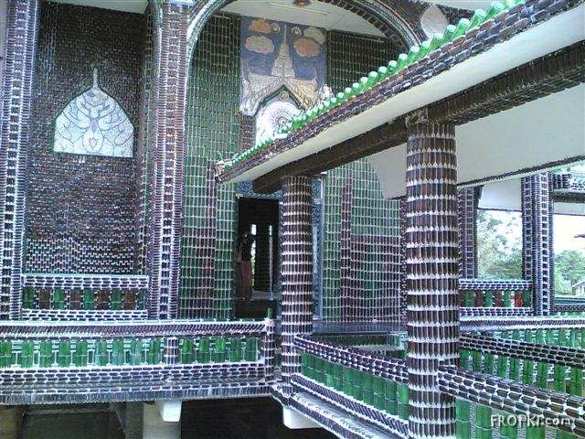 Beer Bottle Temples - Surely Made by Guys