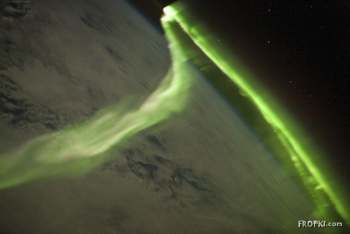 Beautiful Auroras in the Arctic and Antarctic