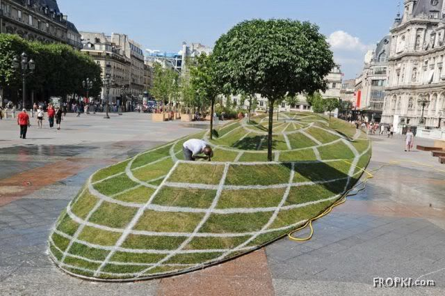 3D Illusion in Paris
