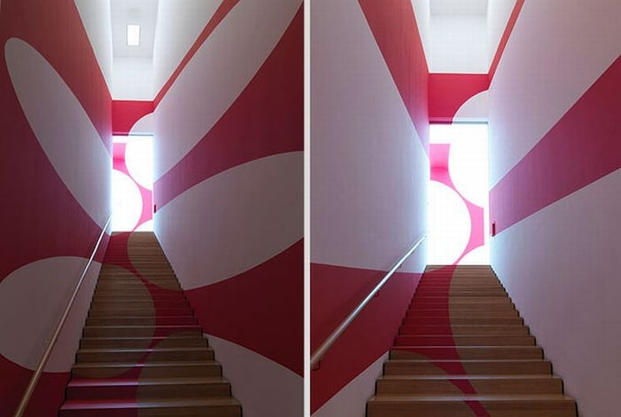 Amazing Anamorphic Illusions by Felice Varini