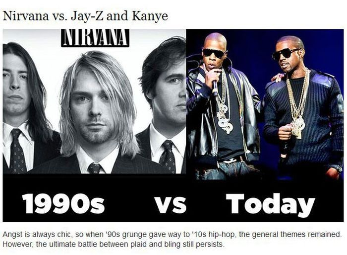 Cool in the 90s Vs Cool Today