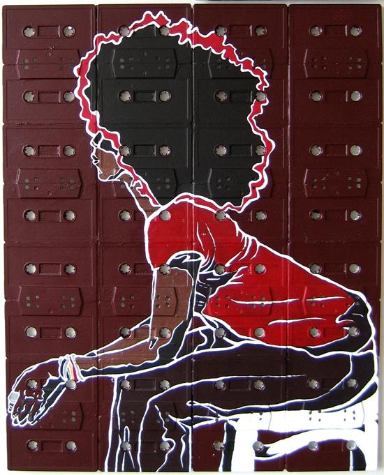 Cassette Tape Canvases