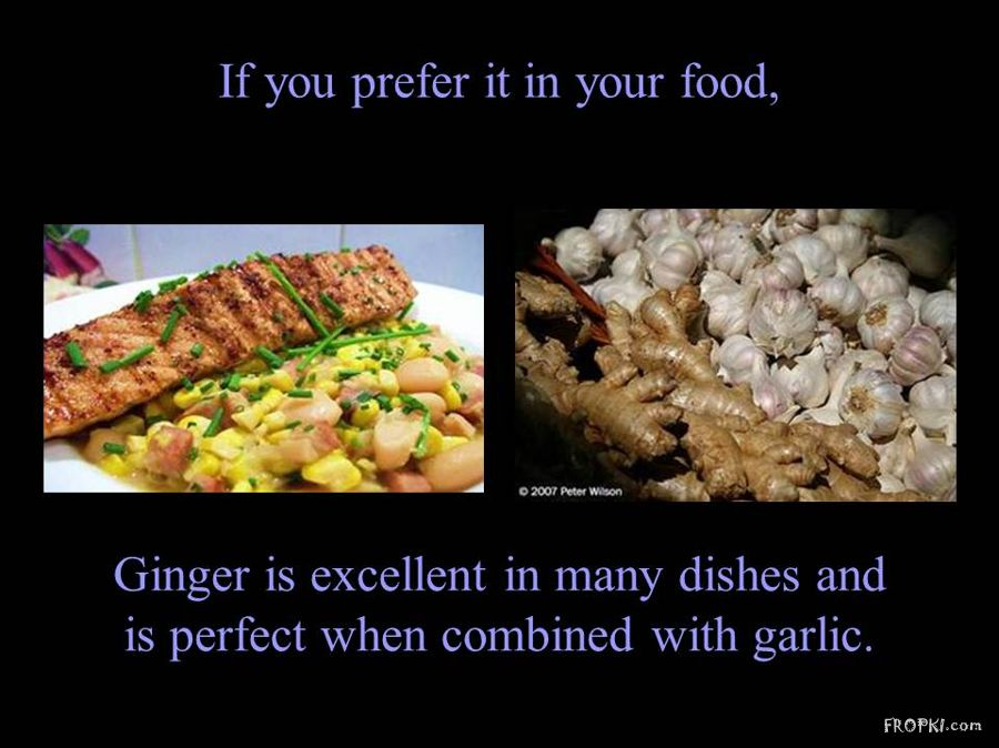The Magic of Ginger