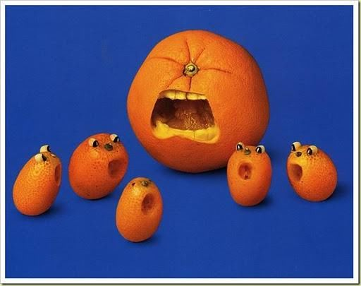 Artistic Creations Using Fruits