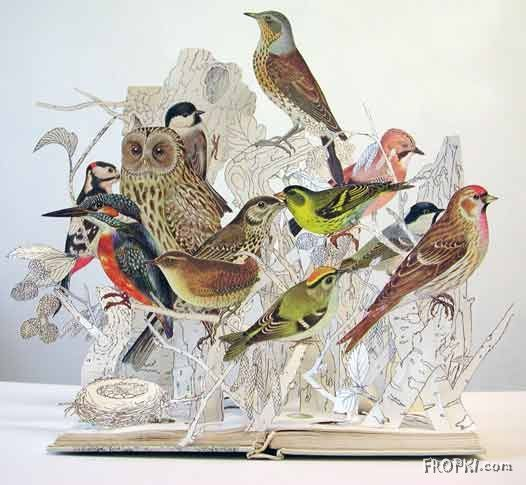 Book Sculptures - How do they make it?
