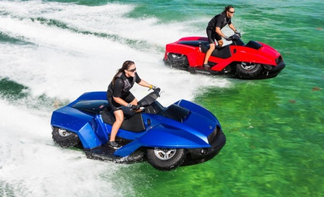 Cool BMW powered QuadSki