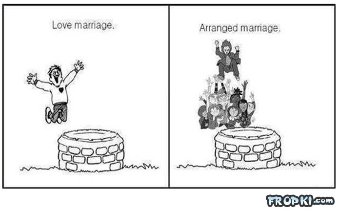 arranged marriage versus love marriage essay