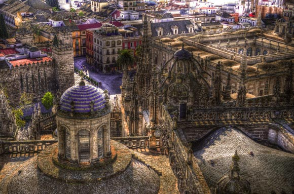 Aerial Views of Famous Places of the World