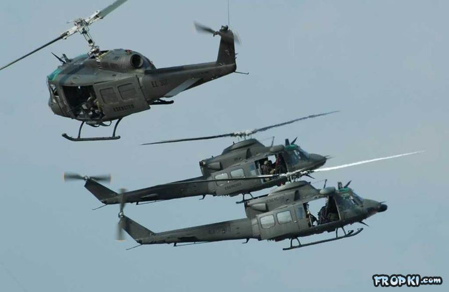 Dancing with the Helicopters