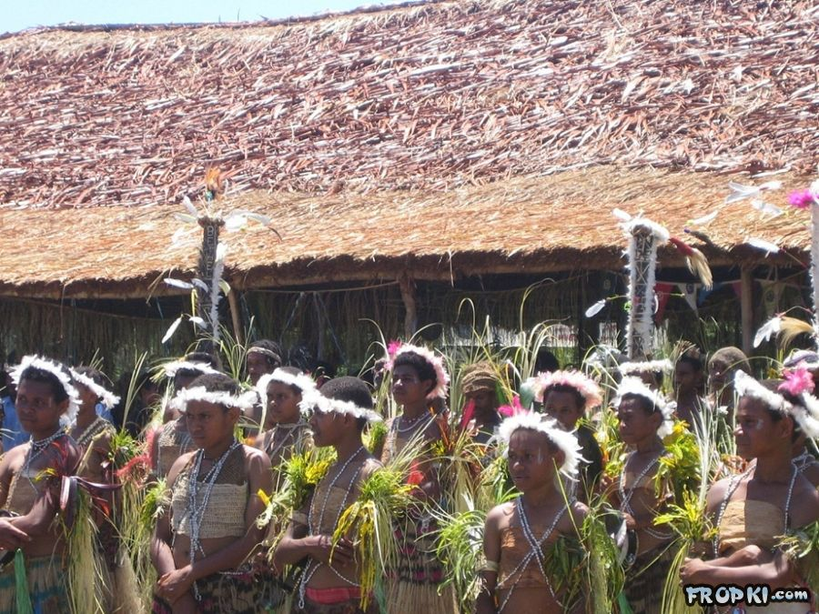 The Papua New Guinea Culture and Surroundings