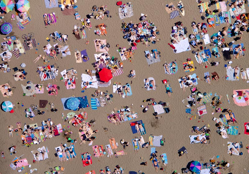 Outstanding Aerial Beach Photos Around the World