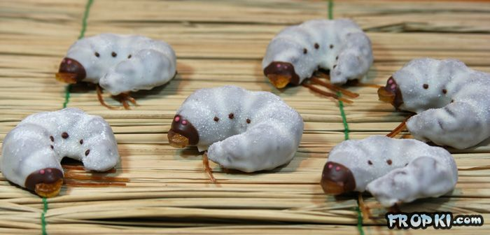Catterpillar Chocolates. Would you have one?