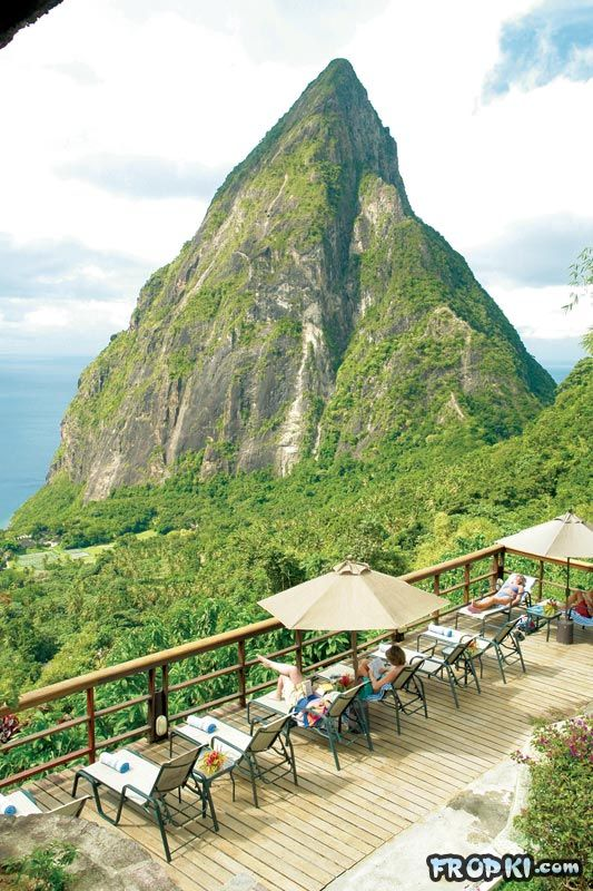 Open Wall Resort in St. Lucia