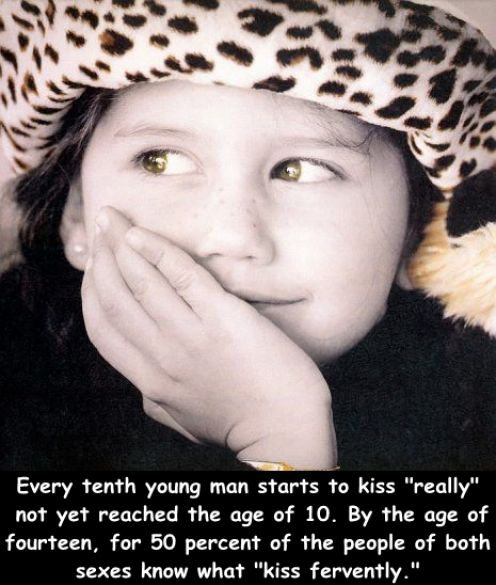 Truly Amazing Facts About Kissing