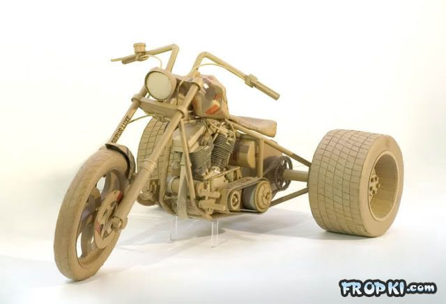 Astonishing Sculptures Made of Cardboard