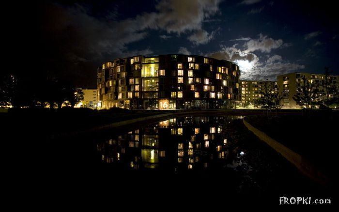 Coolest University Dorm in Copenhagen, Denmark
