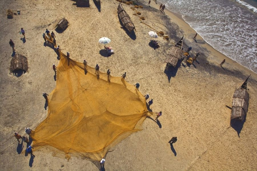 The Kite Photography of Nicolas Chorier (Over India)