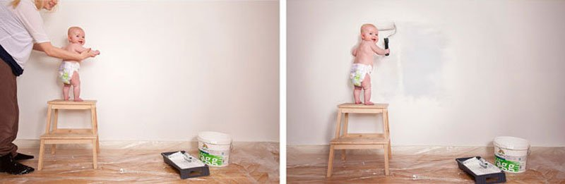 Dad Photoshops Daughter Into Funny Situations