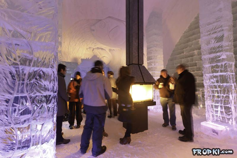 North America's Only Ice Hotel