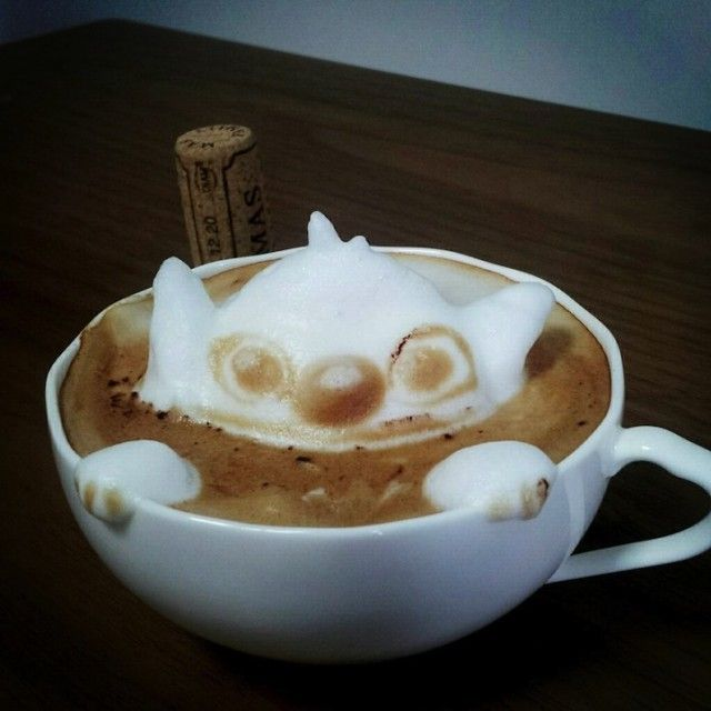 Next Level 3D Coffee Latte Art
