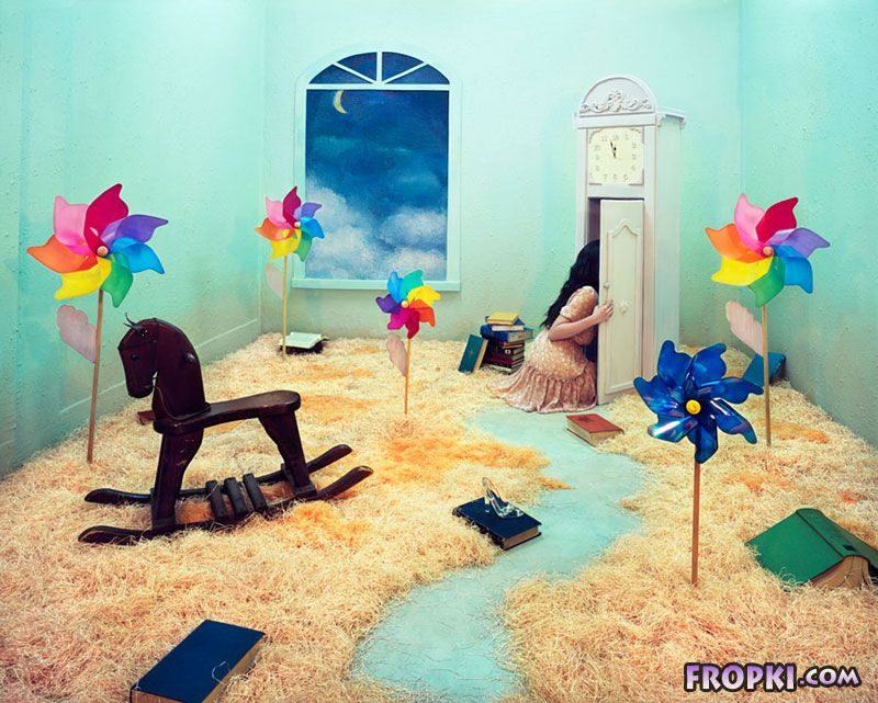 Single Room Transformed into Fantasy Worlds