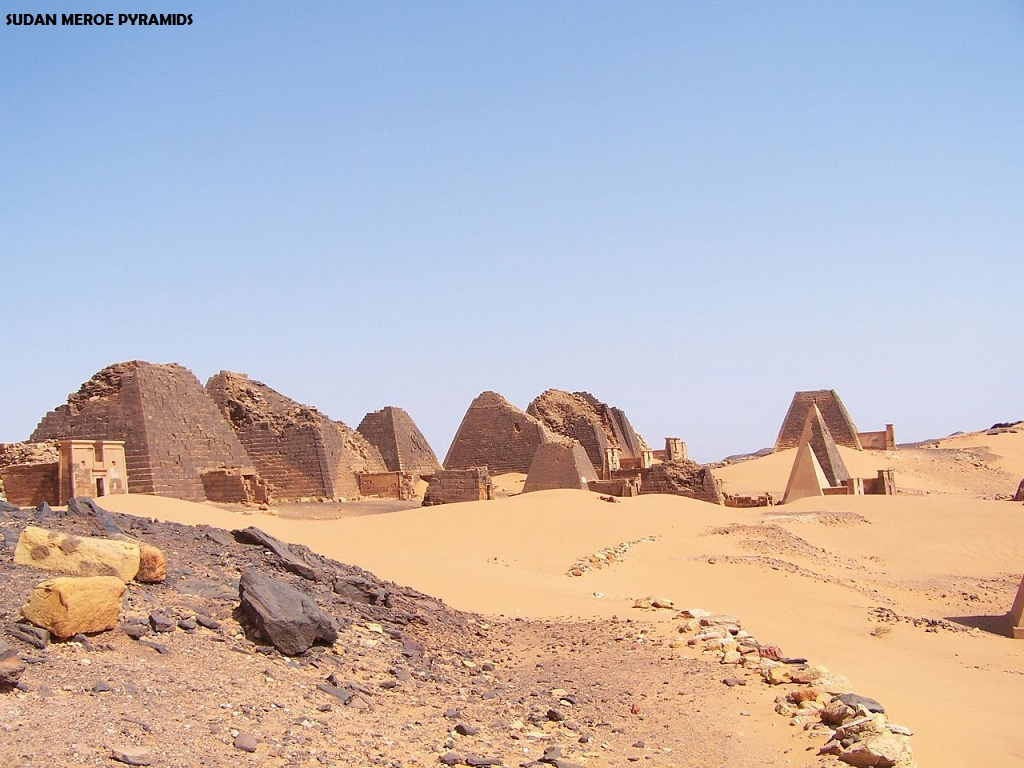 Pyramids from All Around the World