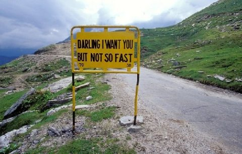 Taunting Road Signs