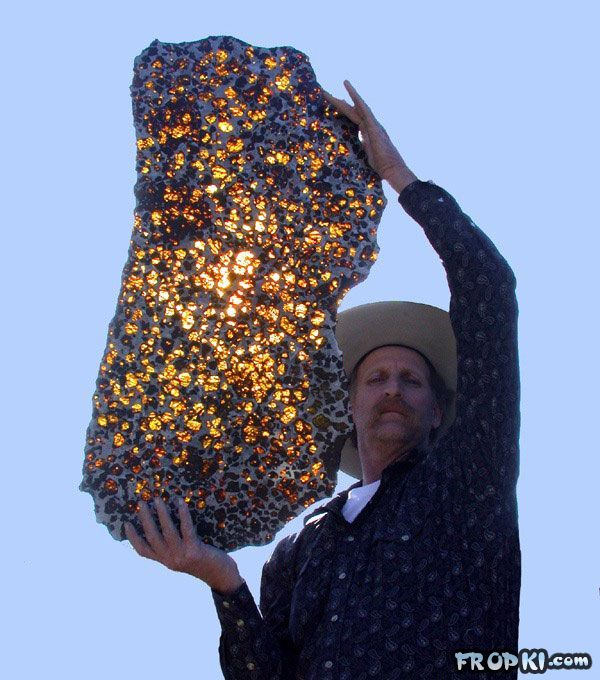 4.5 Billion Year Old Fukang Meteorite