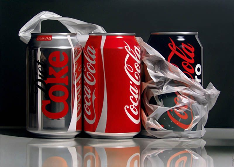 Hyperrealistic Still Life Paintings
