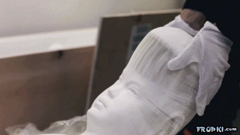 Malleable Paper Sculptures by Li Hongbo