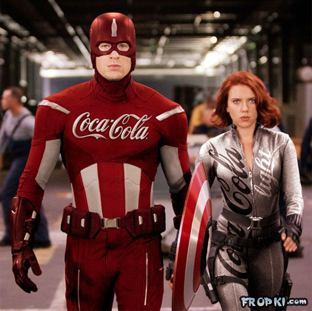 What if Superheroes were Sponsored?