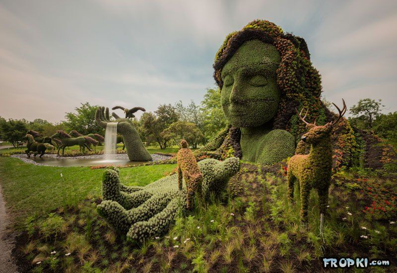 Jaw Dropping Plant Sculptures
