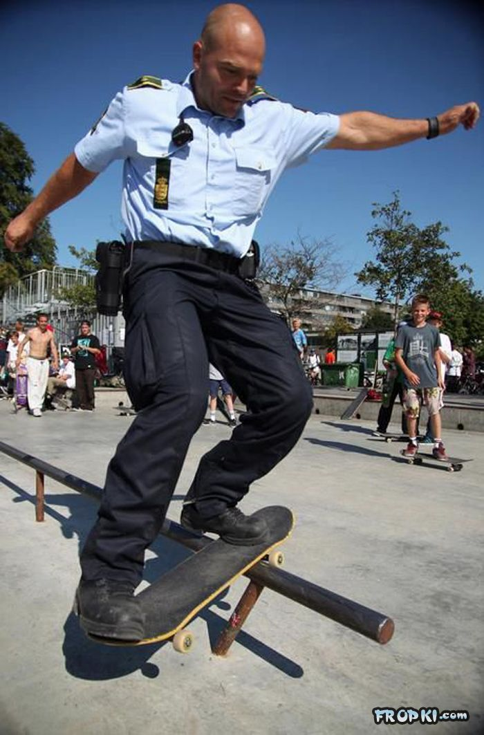 Funny Cops from Around the World