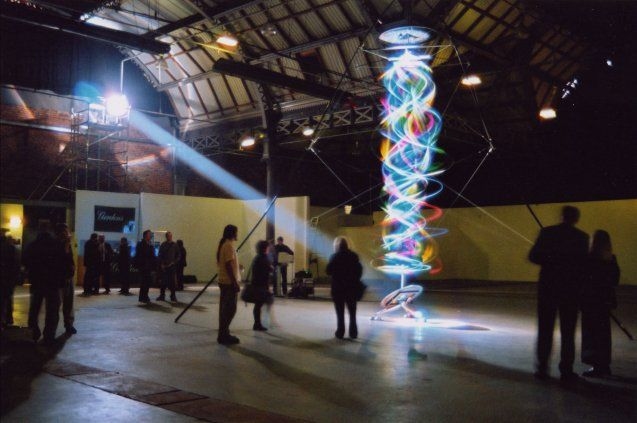 Cool Colorful Kinetic Art