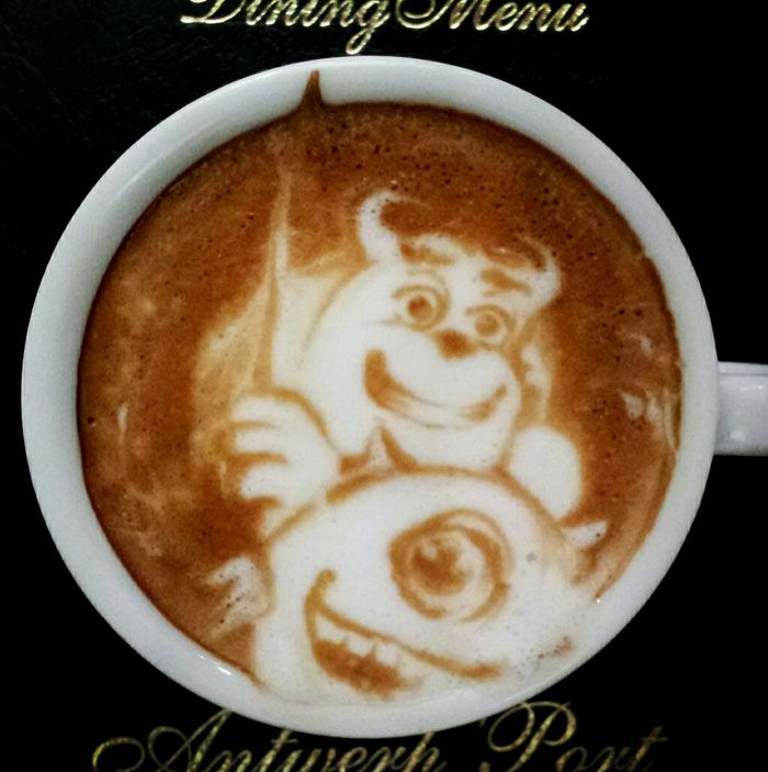 The Amazing Latte Art