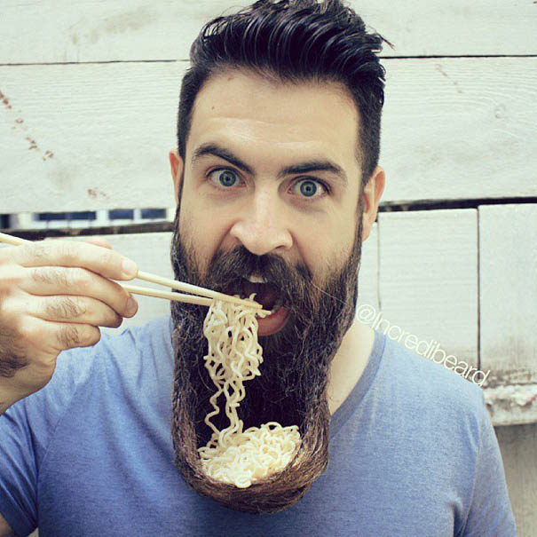 Mr. Incredibeard: Guy With A Thousand Beards