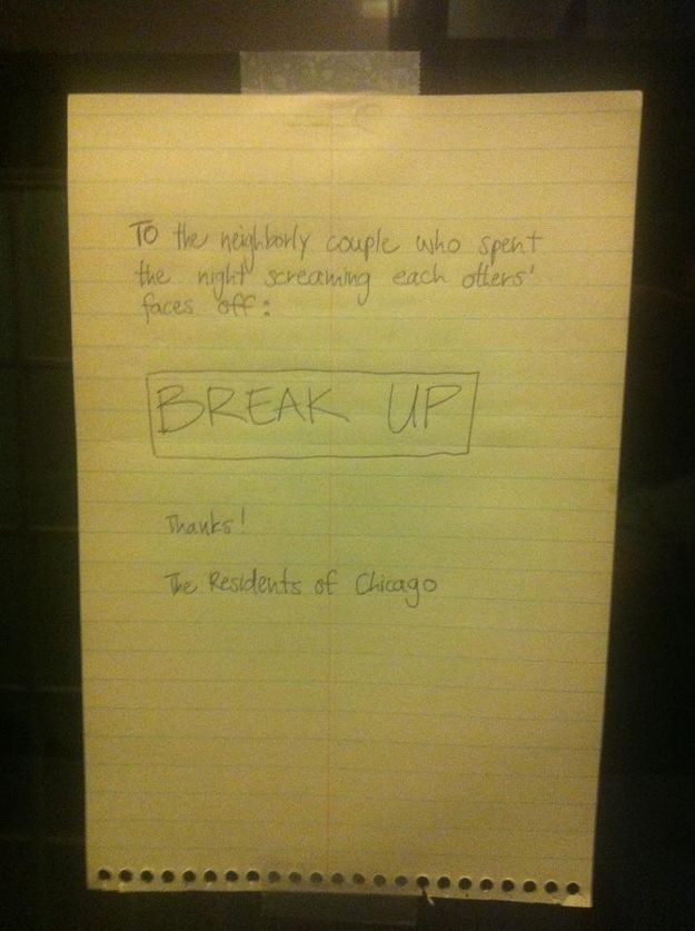 Break Up Letters You Didn't Have to Receive