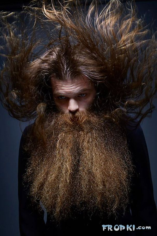 Epic Entries From Beard And Moustache Championships