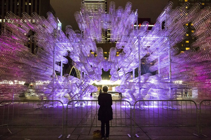 'Forever Bicycles' Installation in Toronto