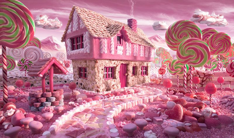 Surreal Landscapes Made from Food