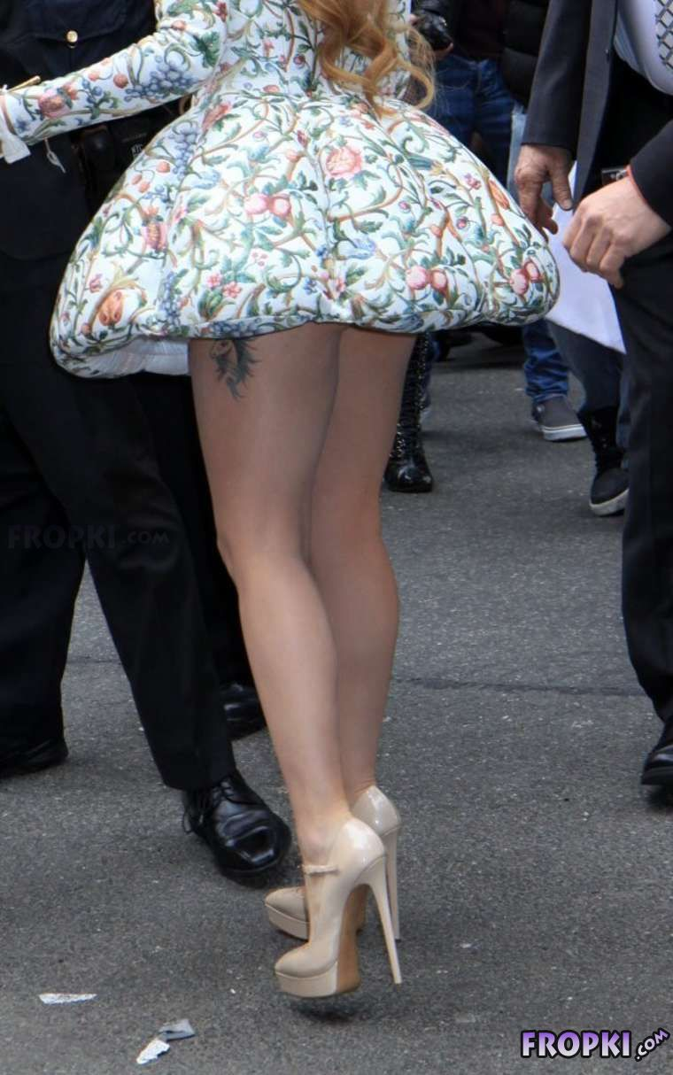 Lady Gaga at 'Late Show' in New York City